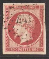 Y&T No 17Ba - 1853-1860 Napoléon III