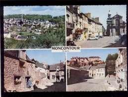 22 Moncontour De Bretagne Multivue ( 4 Vues ) édit. Combier N° CI 1 C - Moncontour