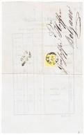 Brief Von Verono (Preisliste Vom 19-5-1862) Nach Bolzano - 1. ...-1850 Vorphilatelie