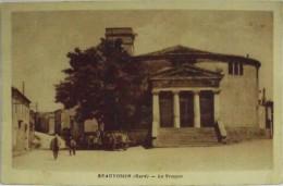 C.P.S.M. - GARD - BEAUVOISIN - Le Temple - Trés Bon état - France