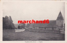 Eure Touffreville L église Rue éditeur G André - France