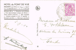 10812 . Postal NADRIN (Hotel Du Point De Vue) Belgien 1930 - Bélgica