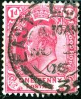 CAPO DI BUONA SPERANZA, CAPE OF GOOD HOPE, COMMEMORATIVO, RE EDOARDO VII, 1902, FRANCOBOLLO USATO, Scott 64 - Cape Of Good Hope (1853-1904)