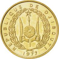 Djibouti, République, 20 Francs 1977 Essai, KM E5 - Djibouti