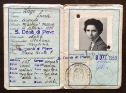 CARTA D´IDENTITA´ -S.DONA' DI PIAVE - 1953 - CON MARCHE MUNICIPALI - Documenti Storici