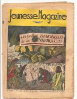 Jeunesse Magazine N°26 (1ère Année) Du 27 Juin1937 Aventures, Aviation Les Quinze Demoiselles De La Dunkerquoise - Magazines Et Périodiques