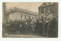 Rossignol  *  Manifestation Patriotique - Le Roi (Albert I) Entouré Des Autorités Pendant Le Discours - Tintigny