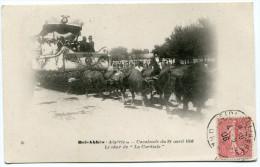 ALGERIE THEME LEGION ETRANGERE CARTE POSTALE DEPART SIDI-BEL-ABBES 4-6-06 ORAN POUR LE TONKIN - Marcophilie (Lettres)