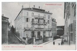 Cpa CONTREXEVILLE  : Hôtel De Paris      ( 338 ) - Unclassified