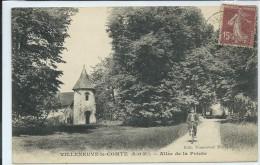 Villeneuve-le-Comte-Allée De La Pointe-(CPA). - Frankreich