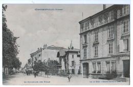Cpa CONTREXEVILLE  : Le Boulevard Des Villas    ( 342 ) - Unclassified