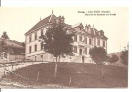 LES FINS   (25) - Mairie Et Bureau De Poste - C.L.B. N° 12244 - Autres Communes