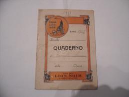 WW1 QUADERNO PUBBLICITà CREMA LION NOIR 1917 - Altri