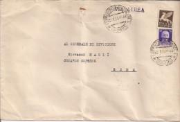 GIOVANNI MAGLI,GENERALE, COMANDO SUPREMO, ROMA, BUSTA VIAGGIATA  1941, COMANDO SUPERIORE FF.AA. GRECIA,COMANDANTE,NOTA - 1939-45