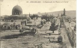 JERUSALEM, L'ESPLANADE DU HARAM-EL-CHERIF - Postales