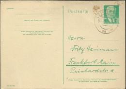 ALEMANIA DDR ENTERO POSTAL LEIPZIG III/18/185 - [6] República Democrática