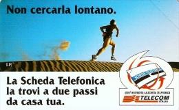 *ITALIA: NON CERCARLA LONTANO - MARATONETA (variante 615A)* - Scheda NUOVA (MINT) - Italy