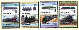 Tuvalu Nui: Histor. Lokomotiven 1984; Postfrisch/MNH - Trains
