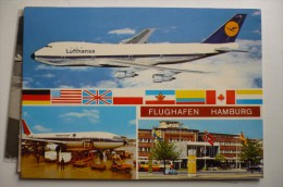 AEROPORT / AIRPORT / FLUGHAFEN      HAMBURG - Aerodrome