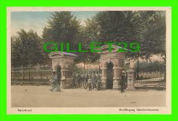 AMERSFOORT, NETHERLAND - HOOFDINGANG INFANTERIEKAZERNE - ANIMATED - J. H. SCHAEFER'S PLATINO - - Amersfoort