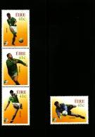 IRELAND/EIRE - 2002  WORLD CUP FOOTBAL CHAMPIONSHIP SET MINT NH - Nuovi