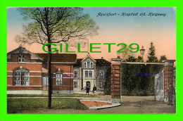 AMERSFOORT, NETHERLAND - HOSPITAL ALD HOOGEWEG - ANIMATED - UITGAVE, P. J. W. - - Amersfoort