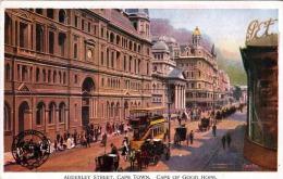 South Africa Südafrika CAPE TOWN, CAPE OF GOOD HOPE, ADDERLEY STREET 1908? - Sud Africa