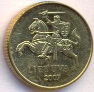 Lithuania 10 Centu 2007 XF - Litouwen