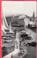 CPSM 83 SAINT TROPEZ St Le Quai ( Voitures Traction  * Format CPA - Saint-Tropez