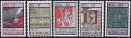 Nederland  1966 NVPH Nr.  859-863  MNH Zomerzegels  Summerstamps - Unused Stamps