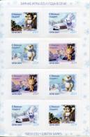 Sochi 2014 Olympic Mascots Mint Stamps Sheet Russia - Winter 2014: Sochi