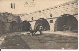 DINANT INTERIER DE LA CITADELLE CANON PLACE EN 1819  NELS - Dinant