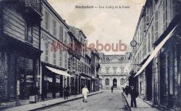 17 - ROCHEFORT  Sur MER  - Rue Audry Et La Poste  -   2 Scans - Rochefort