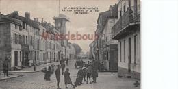 17 - ROCHEFORT  Sur MER  - Rue Toufaire Et La Tour Des Signaux   - Dos Vierge   - 2 Scans - Rochefort