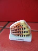 f�ve plate  :  merveilles du monde 2000 - Colis�e  f�ves