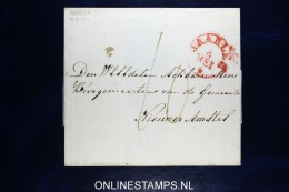Nederland:cover Haarlem Naar Nieuwer Amstel, 1832 ? - Niederlande