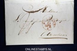 Nederland: Complete Brief Van Helmond Naar Arnhem 1832 - ...-1852 Vorläufer