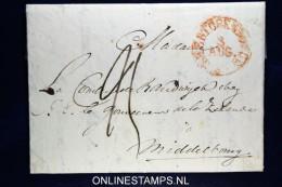 Nederland: Complete Brief Van 's-Hertogenbosch Naar Middelburg, - Nederland