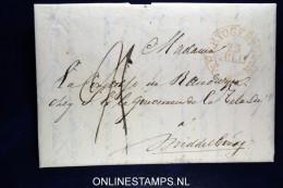 Nederland: Complete Brief Van 's-Hertogenbosch Naar Middelburg, Mooi Waszegel - ...-1852 Voorlopers