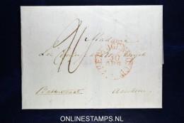 Nederland: Complete Brief Van 's-Hertogenbosch Naar Arnhem  Mooi Waszegel - Nederland