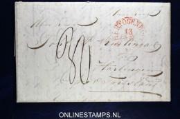 Nederland: Complete Brief Van 's-Hertogenbosch Naar Harlingen - Pays-Bas