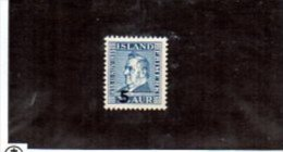 Islande YT 181 XX/ MNH - Unused Stamps