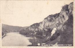 Lustin - Les Rochers De Frênes - Le Belvédère Et Le Tunnel (train Vapeur) - Profondeville