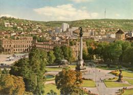 STUTTGART (Allemagne) -  4 Karten : Schlobplatz -  Schlobgarden - Deutsche Gartenschau. Stuttgard 1950 - Stuttgart