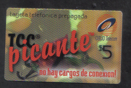 UNITED STATES -  OBLIO PHONECARD  ( PICANTE $5 PHONECARD ) USED 2003 - Unclassified