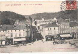 LIGNY EN BARROIS Rue Et Route St Dizier TTBE - Ligny En Barrois