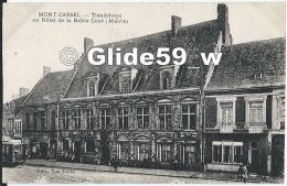 MONT-CASSEL - Tlandshuys Ou Hôtel De La Noble Cour (Mairie) (animée Avec Tramway) (3) - Cassel