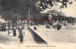 17 - ROYAN -  Boulevard Botton Et Casino Municipal - 2 Scans - Royan