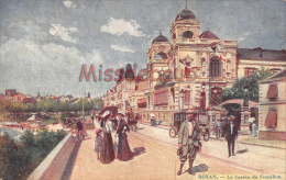 17 - ROYAN -  Lot De 3 Cpa  Illustrées - Casino  Municipal    - 6 Scans - Royan
