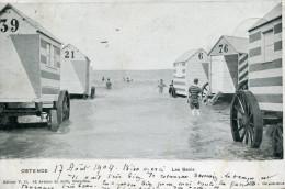 CPA  -  OSTENDE - Les Bains - Édition V.G -  Animée -  Circulée En 1904  - TBE - - Oostende